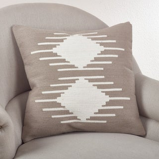 Kilim Geometric Design Down Filled Throw Pillow