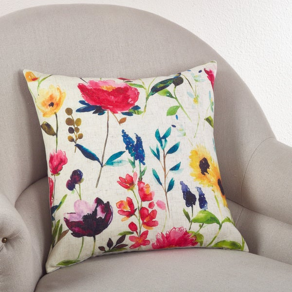 Jardin du Luxembourg Collection Floral Down Filled Pillow