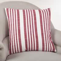 Coastal Stripe Down Filled Throw Pillow