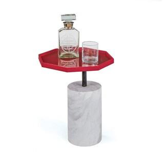 Hip Vintage Oxblood Scarlett Side Table