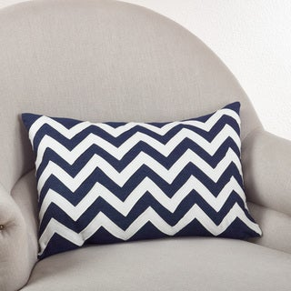 Chevron Down Filled Throw Pillow