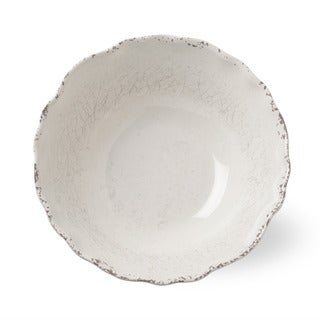 TAG Melamine Serving Bowl Ivory
