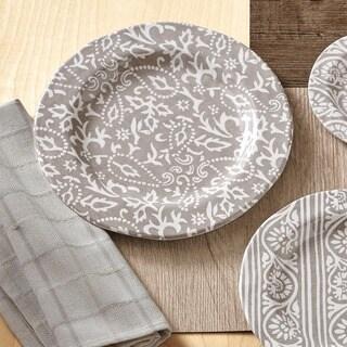 TAG Artisan Melamine Dinner Plates Taupe