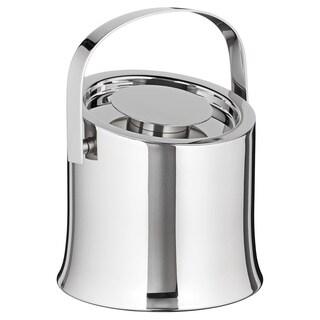 Sleek 1.6-quart Polished Stainless Ice Bucket