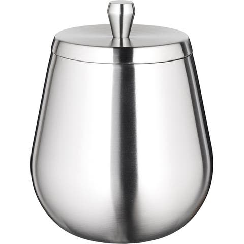 Kraftware Orb 1.6-quart Brushed Stainless Ice Bucket