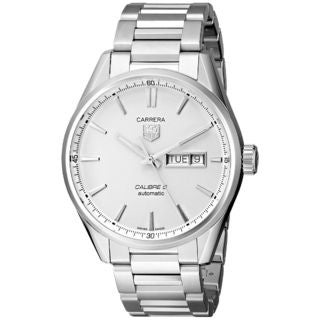 Tag Heuer Men's 'Carrera' Automatic Stainless Steel Watch