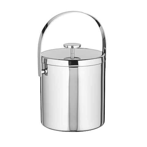 Black Tie 1.7-quart Stainless Ice Bucket