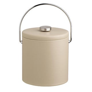 Contempo 3-quart Ice Bucket with Thick Vinyl Lid, Bale Handle, No Trim