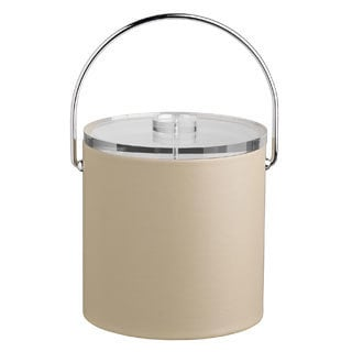 Contempo 3-quart Ice Bucket with Thick Lucite, Bale Handle, No Trim