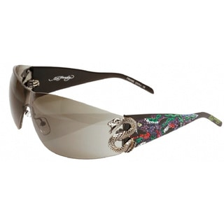 Ed Hardy EHS-005 Snake 2 Black Sunglasses