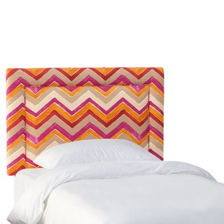 Skyline Furniture Kids Nomad Flamenco Border Upholstered Headboard