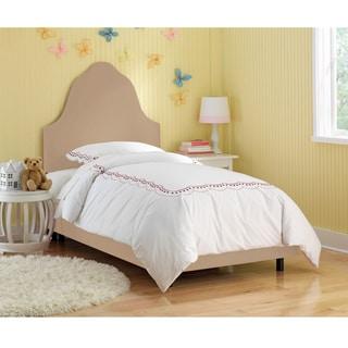 Skyline Furniture Kids Premier Oatmeal Arched Bed