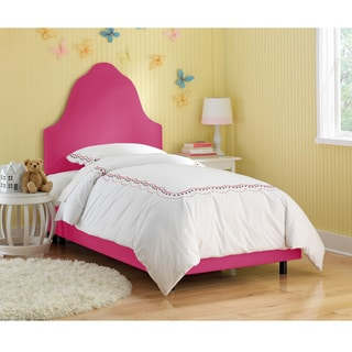 Skyline Furniture Kids Premier Hot Pink Arched Bed