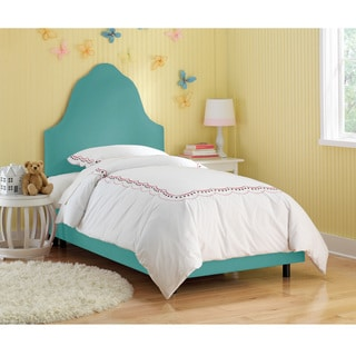 Skyline Furniture Kids Premier Azure Upholstered Arched Bed