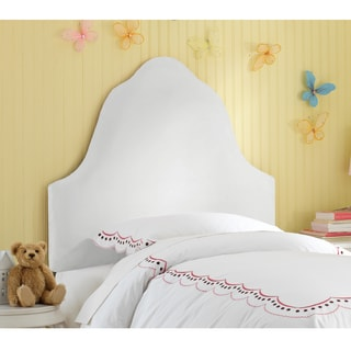 Skyline Furniture Kids Premier White Arched Headboard