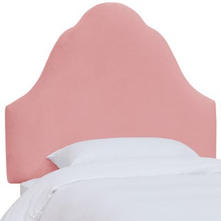 Skyline Furniture Kids Premier Light Pink Arched Headboard