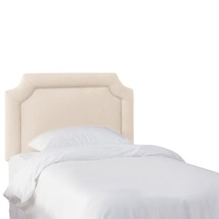 Skyline Furniture Kids Talc Linen Notched Headboard