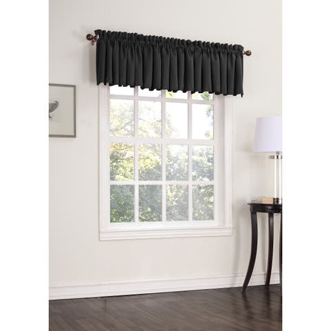 Porch & Den Kahaloa Room Darkening Window Valance - 54 x 18 - 54 x 18