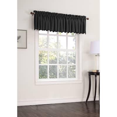 Porch & Den Inez Room Darkening Window Valance - 54 x 18
