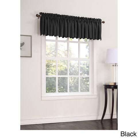 Porch & Den Inez Room Darkening Window Valance - 54 x 18 - 54 x 18