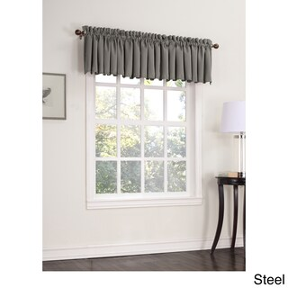 Laurel Creek Mendocino Room Darkening Window Valance - 54 x 18 (Option: steal)