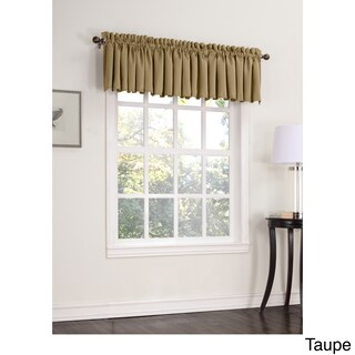 Sun Zero Galia Room Darkening Window Valance - 54 x 18 (More options available)
