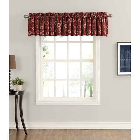 Sun Zero Gail Room Darkening Window Valance