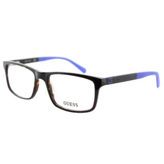 Guess GU 1878 052 Dark Havana Plastic Rectangle 53mm Eyeglasses