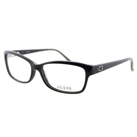 Guess GU 2542 001 Black Plastic Cat-Eye 54mm Eyeglasses