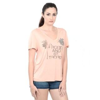 Halston Heritage V Neck T-Shirt