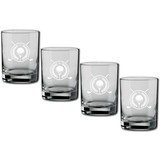 Kasualware 14-ounce Glass DOF Golf (Set of 4)