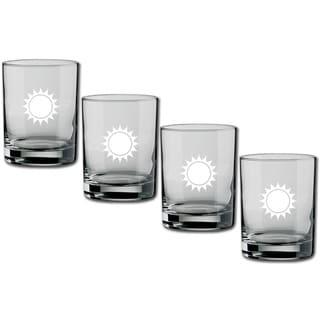 Kasualware 14-ounce Glass DOF Sunshine (Set of 4)