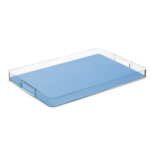 Kraftware Fishnet Serenity Rectangular Tray