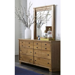 Diego Walnut Finish 6 Drawer Dresser