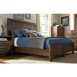 King or Queen Panel Bed Frame and Headboard