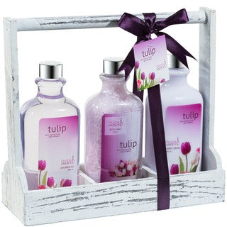 Tulip Bath and Body Gift Set