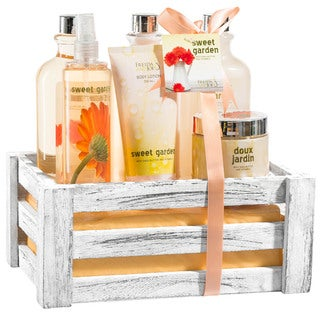 Sweet Garden Bath Gift Set
