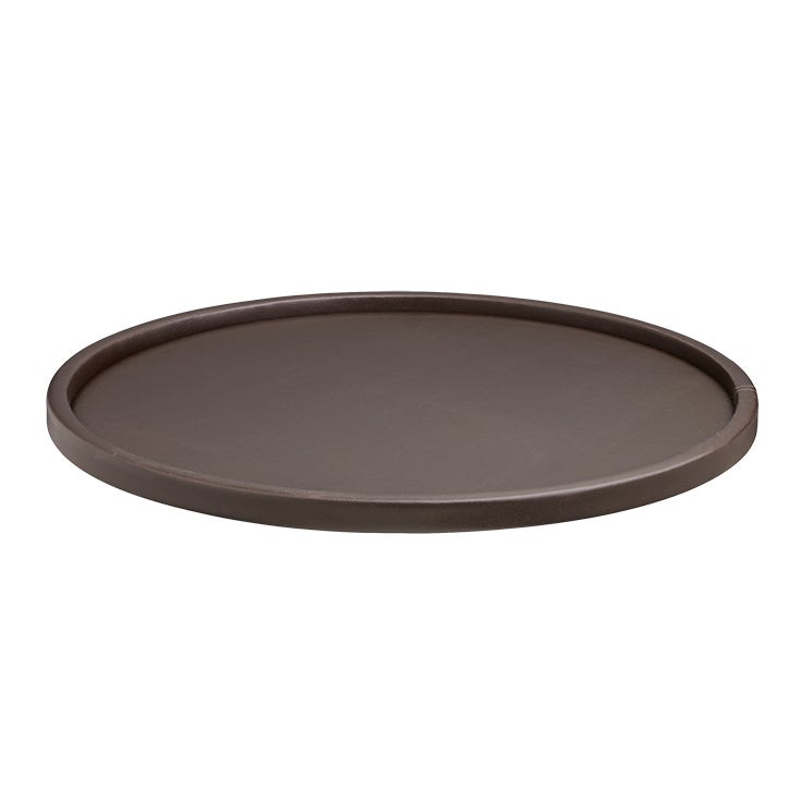 Kraftware Contempo 14 Inch Round Serving Tray With 15 Inch Rim
