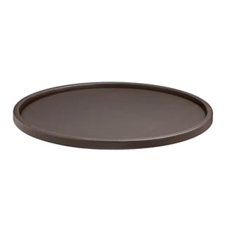 Contempo 14-inch Round Serving Tray with 1.5-inch Rim