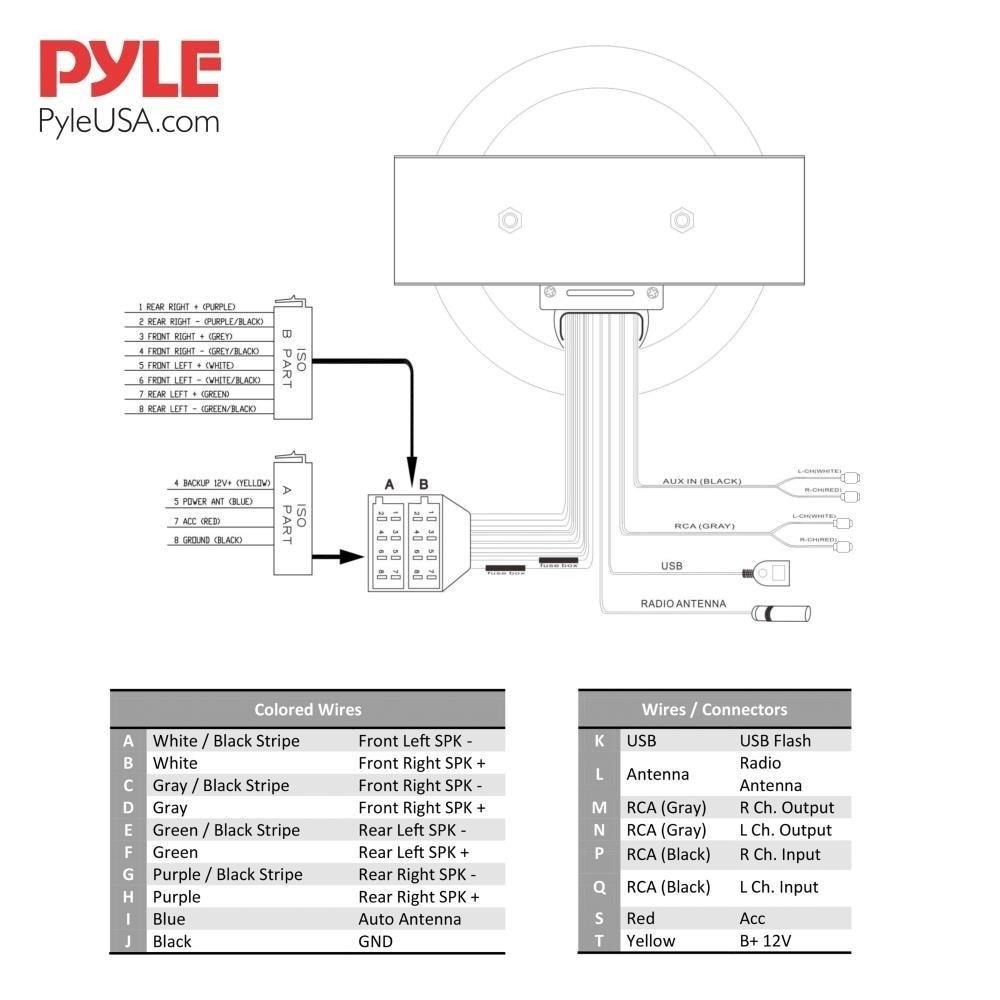 pyle marine amp wiring diagram