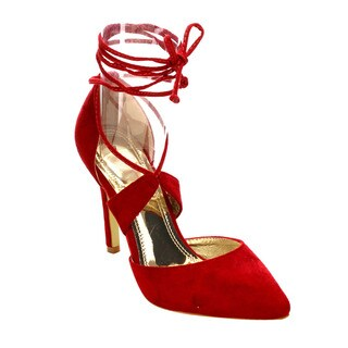 Beston Lace Up Heels