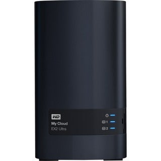 WDBVBZ0040JCH-NESN WD 4TB My Cloud EX2 Ultra Network Attached Storage