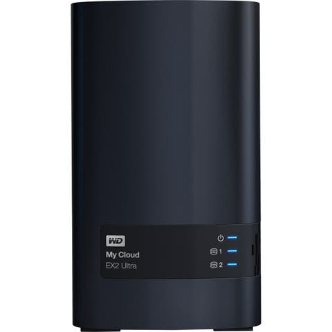 WDBVBZ0080JCH-NESN WD 8TB My Cloud EX2 Ultra Network Attached Storage - NAS - WDBVBZ0080JCH-NESN