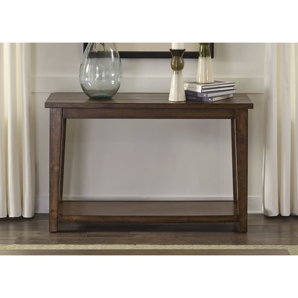 Lancaster II Antique Brown Sofa Table - Free Shipping Today