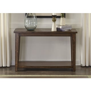 Liberty Lancaster II Antique Brown Sofa Table