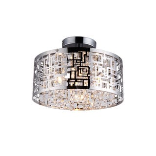 Metropolitan 4 Light Semi-Flush Pendant