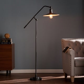 Harper Blvd Vande Black Steel Floor Lamp