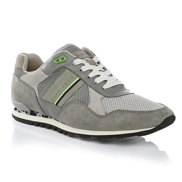c7df1ad1102 Hugo Boss Grey Runcool Sneakers