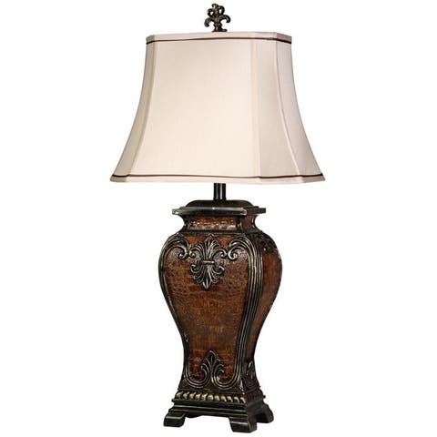 Gracewood Hollow Paolini Traditional Dundee Finish Table Lamp