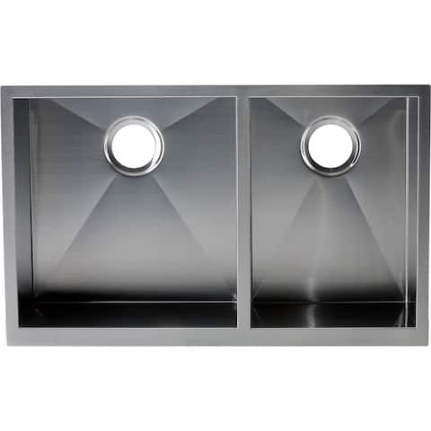 AA Warehousing Hardy Double Bowl Apron Sink